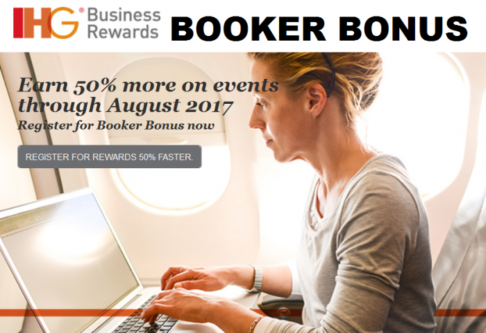 IHG Business Rewards 50 Percent Bonus