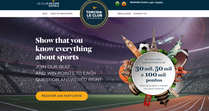 Le Club AccorHotels Game