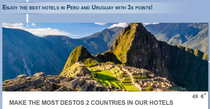 Le Club AccorHotels Peru & Uruguay Triple Points July 22 - September 22 2016