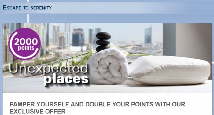 Le Club AccorHotels Unexpected Places 2000 Bonus Points August 15 - 22 2016