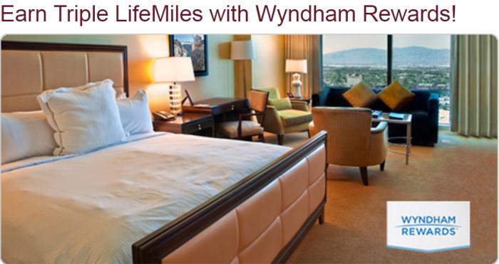Wyndham Rewards Avianca LifeMiles Triple Miles Offer
