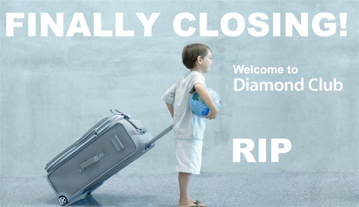 BMI Diamond Club Closing
