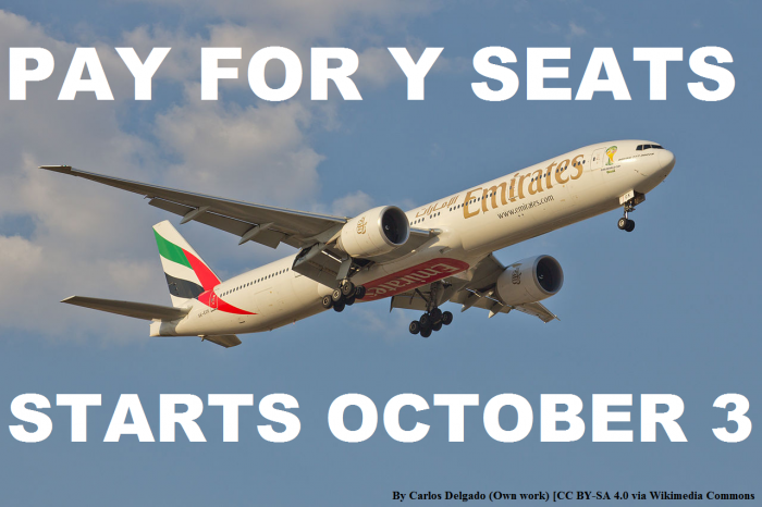 Emirates Pay For Bags