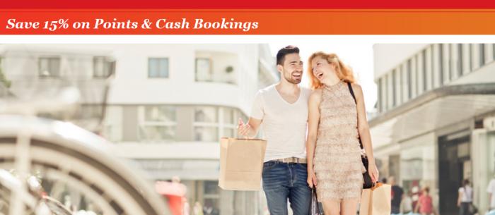 IHG Rewards Club Points + Cash Discount September 2016