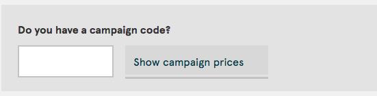 Norwegian Campaign Code