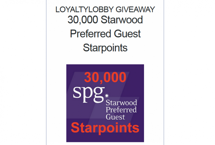 loyaltylobby-giveaway-30000-spg-starpoints