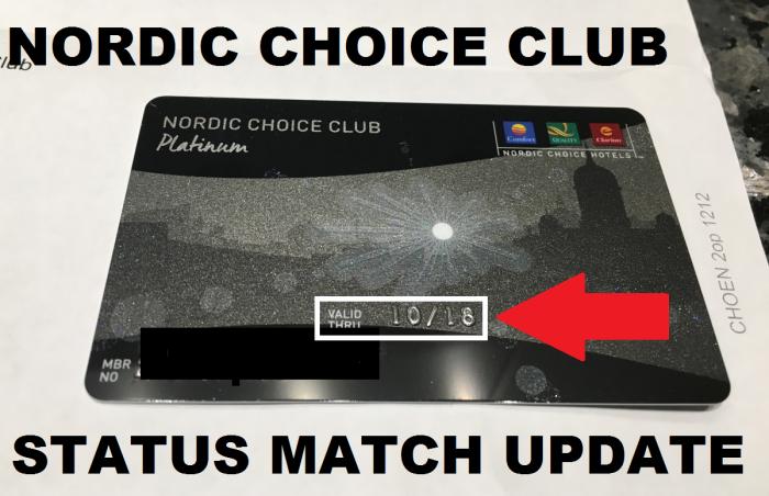 nordic-choice-club-status-match-update