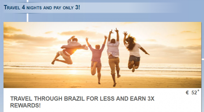 Le Club AccorHotels Brazil Triple Points January 1 - February 28 2017