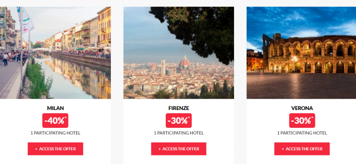 Le Club AccorHotels Worldwide Private Sale December 29 2016 Italy 2