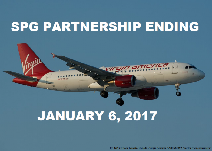 Virgin America SPG Partnership