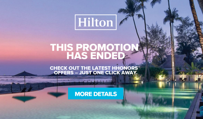 Hilton HHonors Team USA Rate Gone