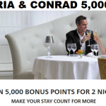 Hilton HHonors Waldorf Astoria & Conrad 5,000 Bonus Points Min Two Night Stay Until December 31, 2017
