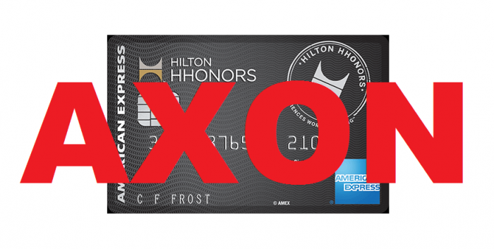LAST CALL Hilton HHonors AXON Awards Available Until February 15, 2017