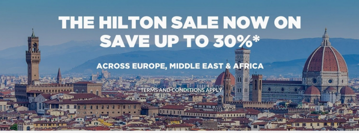 LAST CALL Hilton HHonors Europe Middle East Africa Weekends Sale 2017