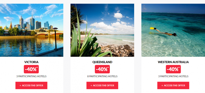 Le Club AccorHotels Private Sales January 5 2017 Australia 2