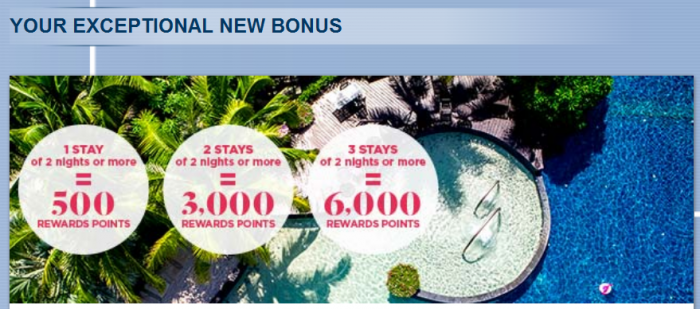 Le Club AccorHotels Up To 6000 Bonus Points January 23 - April 9 2017