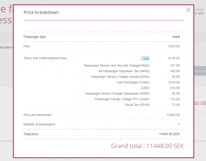 Qatar Airways Privilege Club Quintuple Miles One Day Only Travel Festival ARN-HKG Price