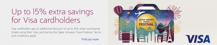 Qatar Airways Travel Festival January 2017 Visa