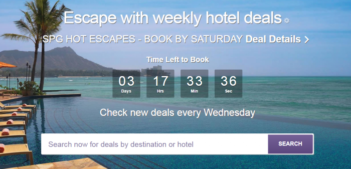 SPG Hot Escapes January 18 2017