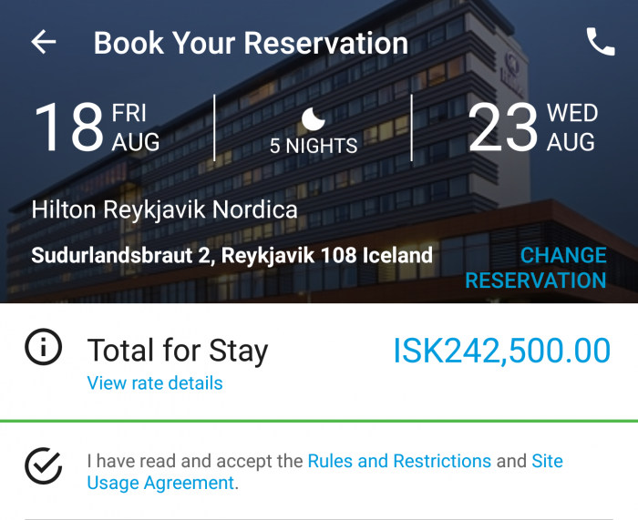 Hilton Honors Award Success Hilton Reykjavik Nordica Price