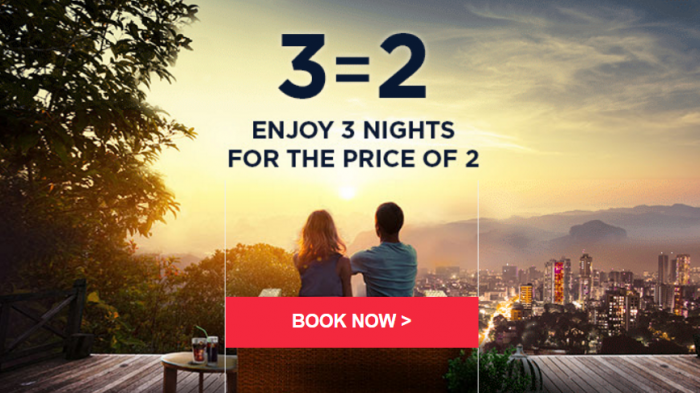 Le Club AccorHotels 3 = 2 Worldwide Sale March 2017