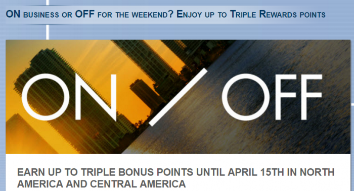 Le Club AccorHotels North & Central America Up To Triple Points February 15 - April 19 2017