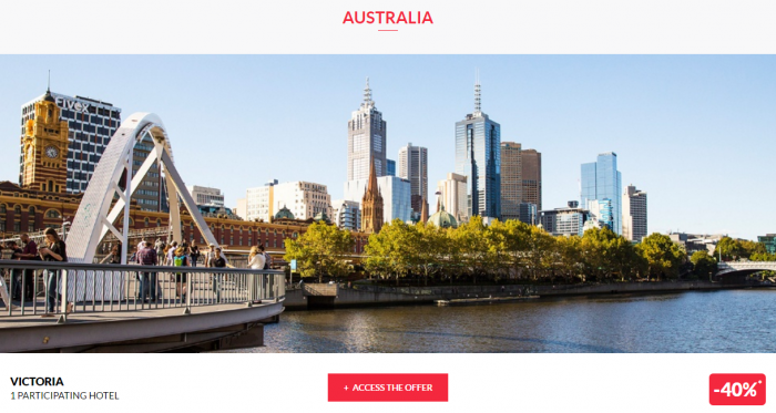 Le Club AccorHotels Private Sales F22 Australia 1