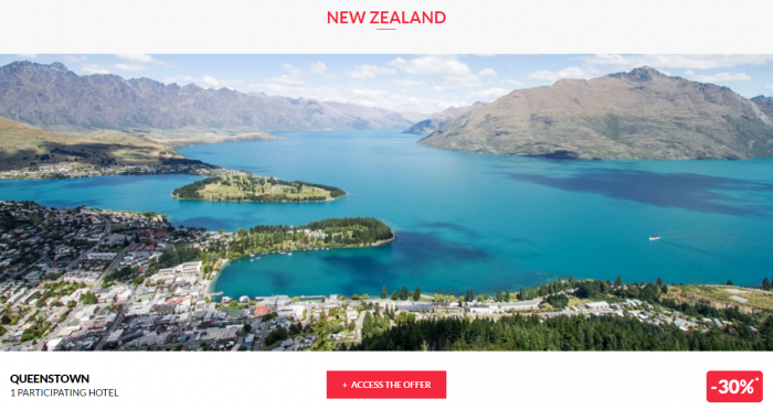 Le Club AccorHotels Private Sales New Zealand 1