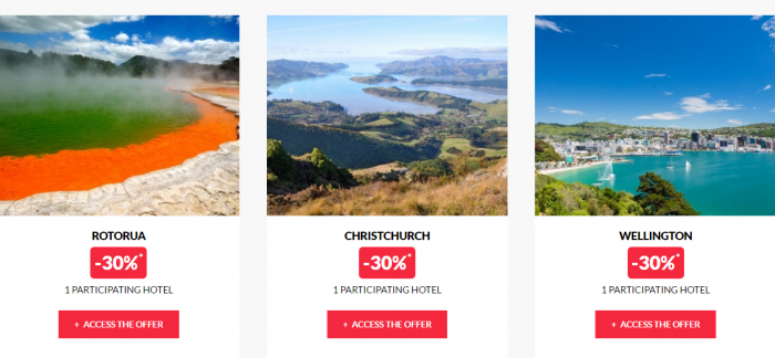 Le Club AccorHotels Private Sales New Zealand 2