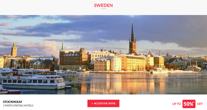 Le Club AccorHotels Worldwide Up To 50 Percent Off Private Sales February 1 2017 Sweden 1