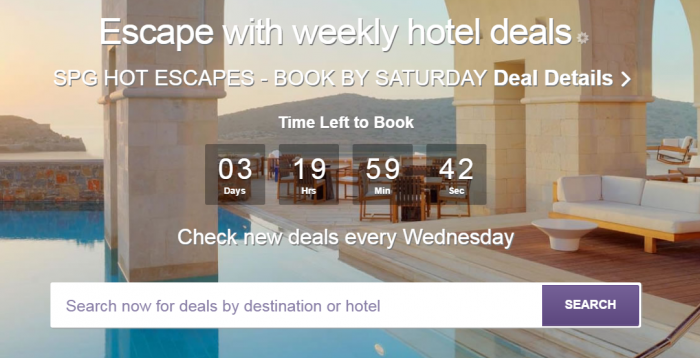 SPG Hot Escapes February 22 2017
