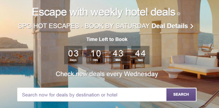 SPG Hot Escapes February 15 2017