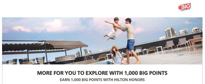 Hilton Honors AirAsia BIG Points Promotion March 15 - June 30, 2017