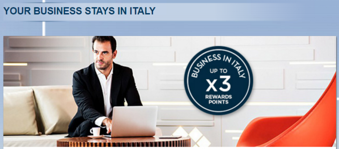 Le Club AccorHotels Italy Up To Triple Points February 16 - May 1 2017