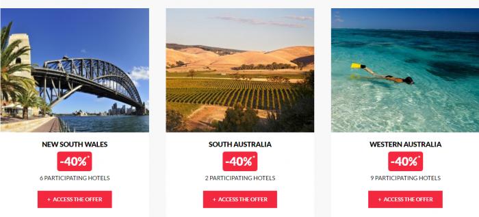 Le Club AccorHotels Worldwide Private Sales February 29 Australia 2
