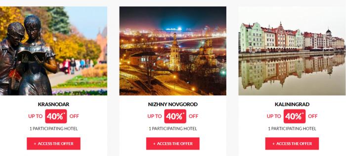 Le Club AccorHotels Worldwide Private Sales February 29 Russia 4