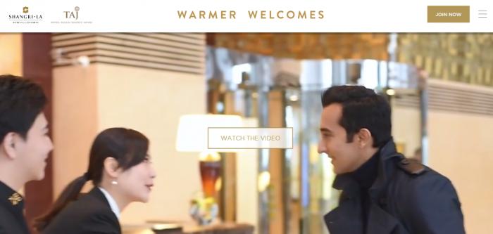 Shangri-La & TAJ Warmer Welcomes