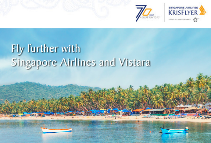 Singapore Airlines KrisFlyer Vistara