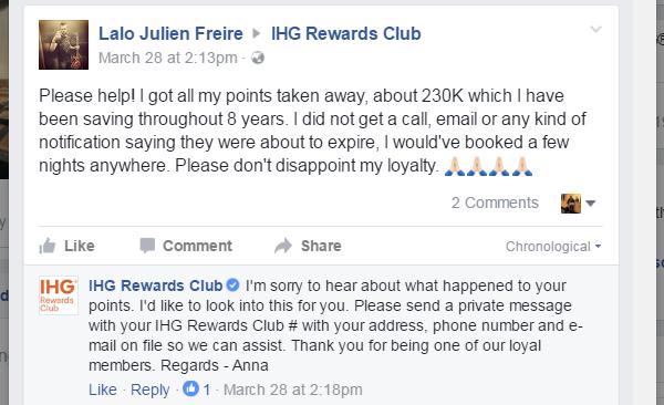 IHG Points Expire 3