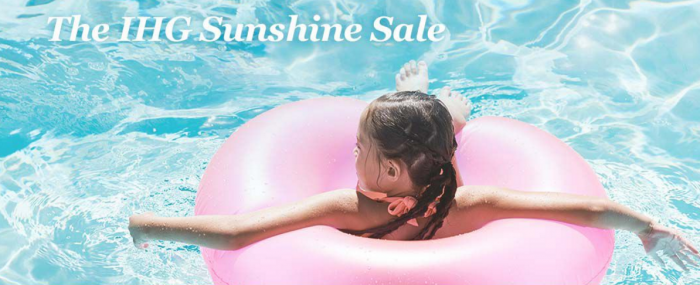 IHG Rewards Club The Sunshine Sale