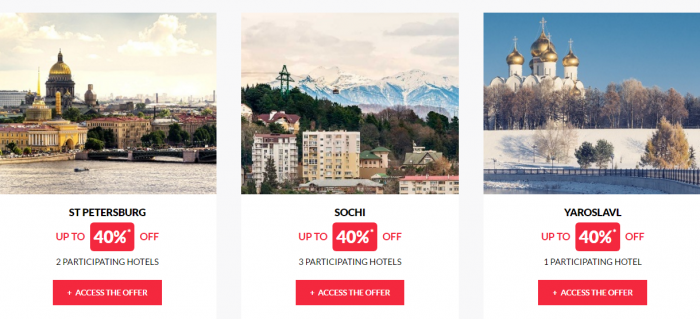 Le Club AcccorHotels Worldwide Up To 50 Percent Off Private Sales April 20 Russia 2