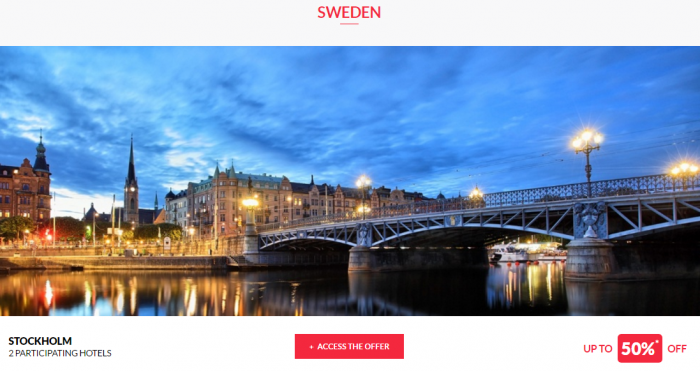 Le Club AcccorHotels Worldwide Up To 50 Percent Off Private Sales April 27 Sweden 1