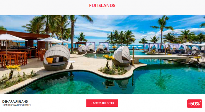 Le Club AcccorHotels Worldwide Up To 50 Percent Off Private Sales April 5 Fiji 1