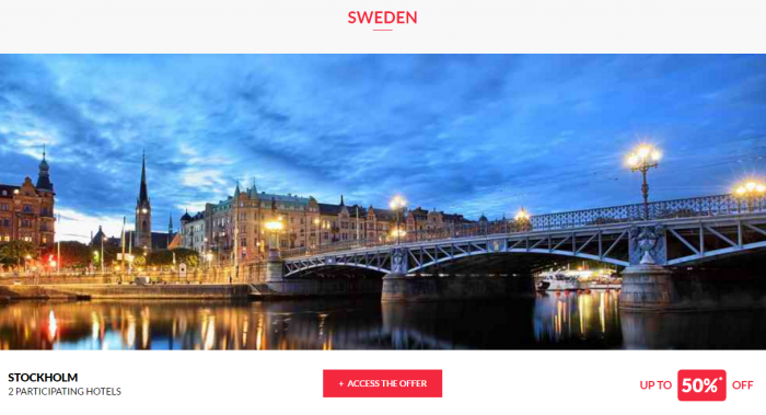 Le Club AcccorHotels Worldwide Up To 50 Percent Off Private Sales April 5 Sweden 1