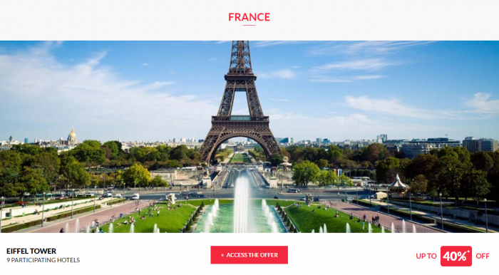 Le Club AccorHotels Private Sales April 13 France 1