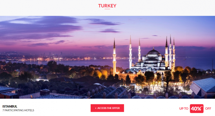 Le Club AccorHotels Private Sales April 13 Turkey 1