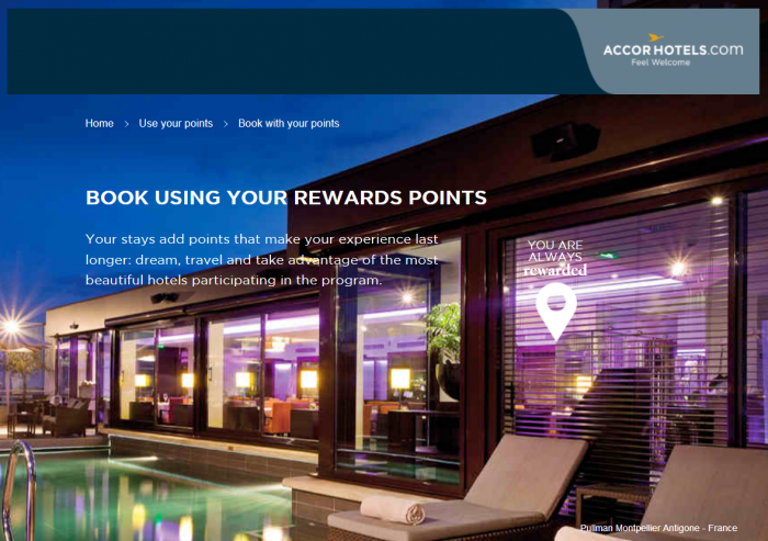 Pay With Your Le Club AccorHotels Points Coming