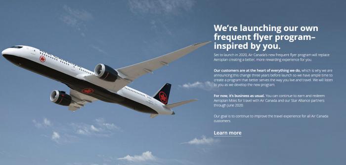 Air Canada Own Loyalty Program