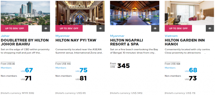 Hilton Honors Asia-Pacific Up To 40 Percent Off Flash Sale May 2017 South East Asia 7