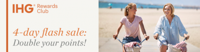 IHG Rewards Club Buy Points 100 Percent Bonus May 16 - 19 2017